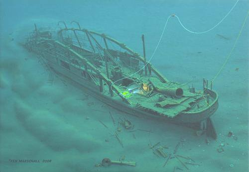 Comet Great Lakes Shipwreck Historical Society