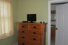 Room 2: Chest of Drawers, TV