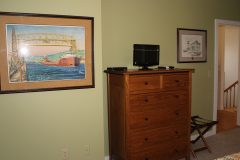 Room 3: Chest of Drawers, TV