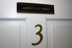 Room 3: Assistant Chief
