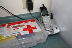 Kitchen: First Aid Kit, Phone