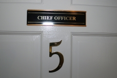 Room 5: Chief Officer