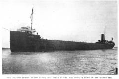 Portrait of the Cyprus on her maiden voyage