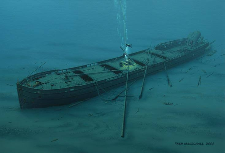 John M Osborn Great Lakes Shipwreck