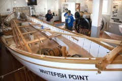 Great Lakes Shipwreck Museum exhibit
