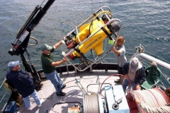 Launch-of-Phantom-S4-ROV-from-R.V.-David-Boyd