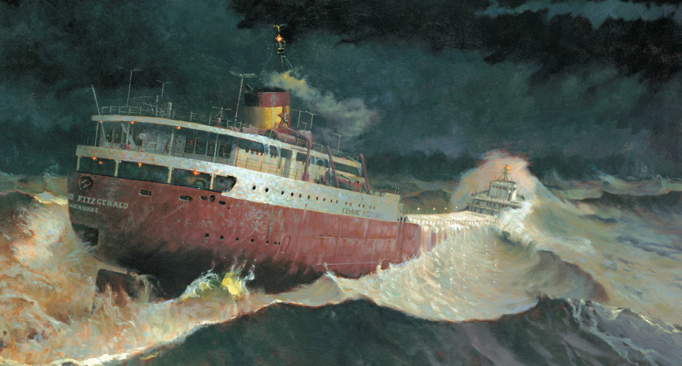 Great Lakes Shipwreck Museum | Edmund Fitzgerald | Great ...
