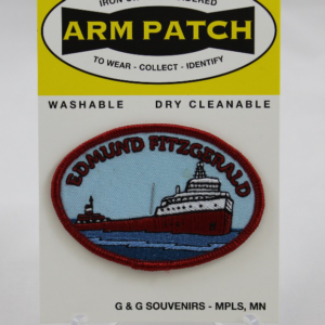 Edmund Fitzgerald Arm Patch