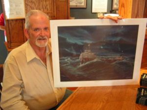 Dennis Hale, sole survivor of the November 29, 1966 shipwreck of the Daniel J. Morrell
