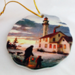 Whitefish Point Christmas Circa 1920